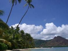 Der ganze Strand, die ganze Insel für uns alleine