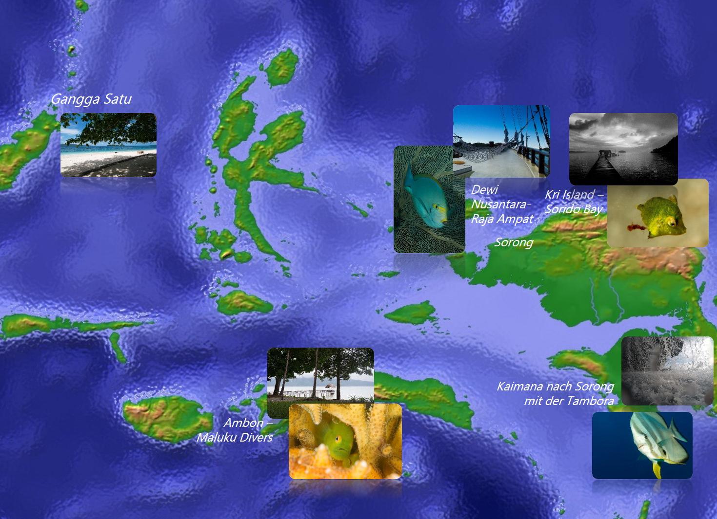 Karte Indonesien 2014-2